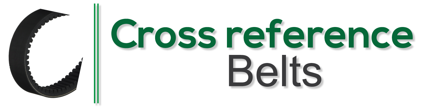 Cross Reference Belts Replacement Belt Finder For A Any